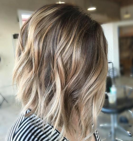 vlasy balayage