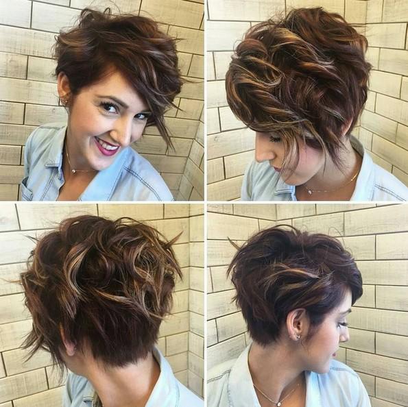 a3ebaa240 Účesy z krátkých vlasů jako inspirace a nápad